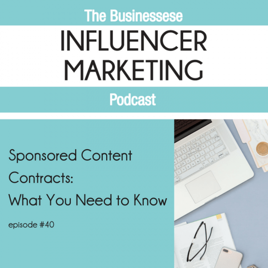 Influencer Marketing Podcast with Businessese
